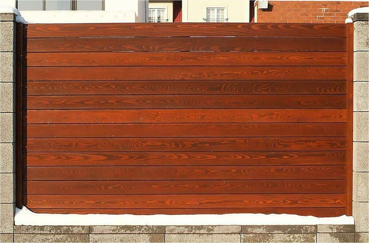 деревянный забор 90м фото3