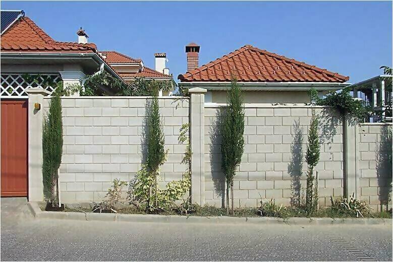 забор из французского камня фото5
