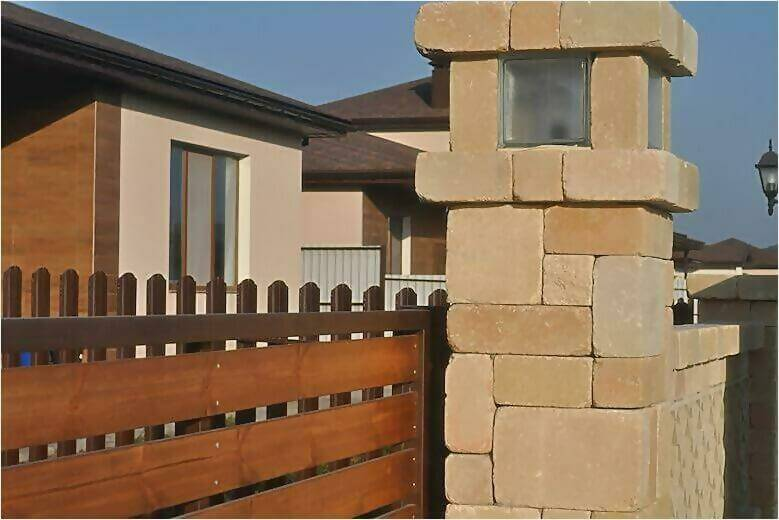 забор из камня фото5