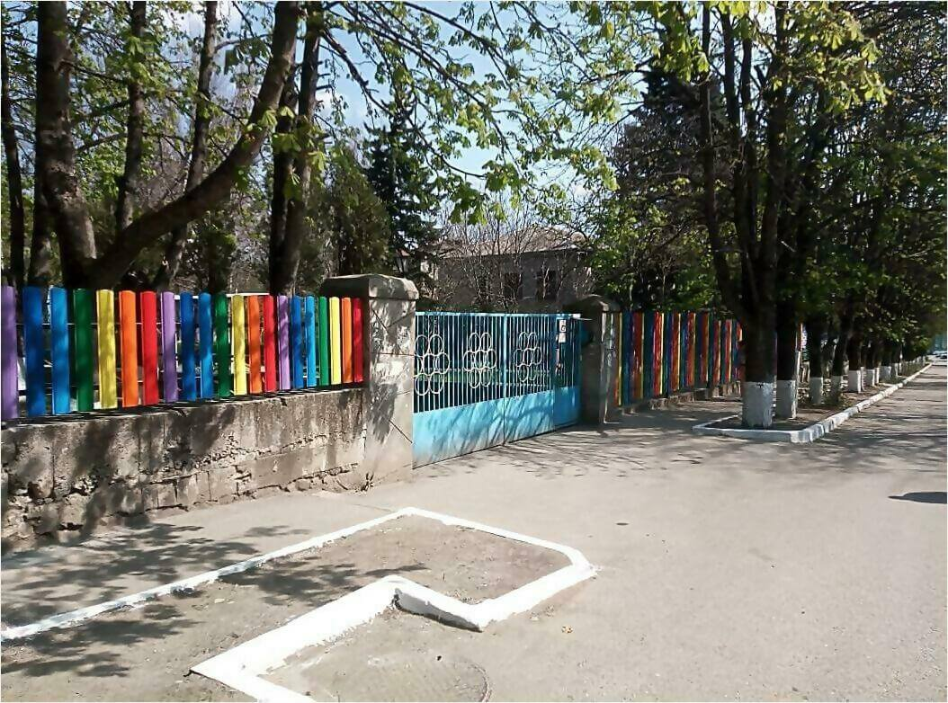 забор из штакетника 110м фото2