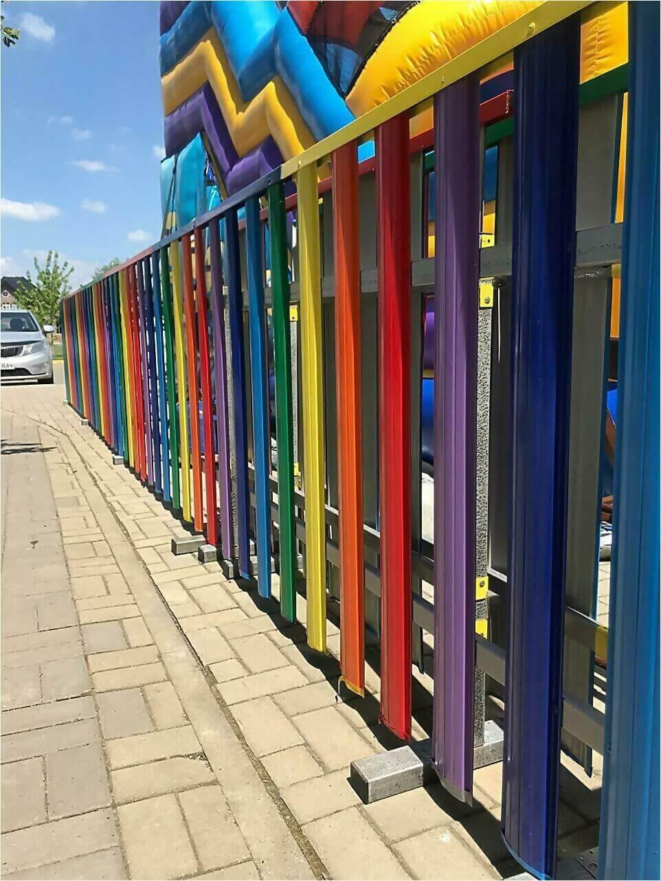забор из штакетника 15м фото1