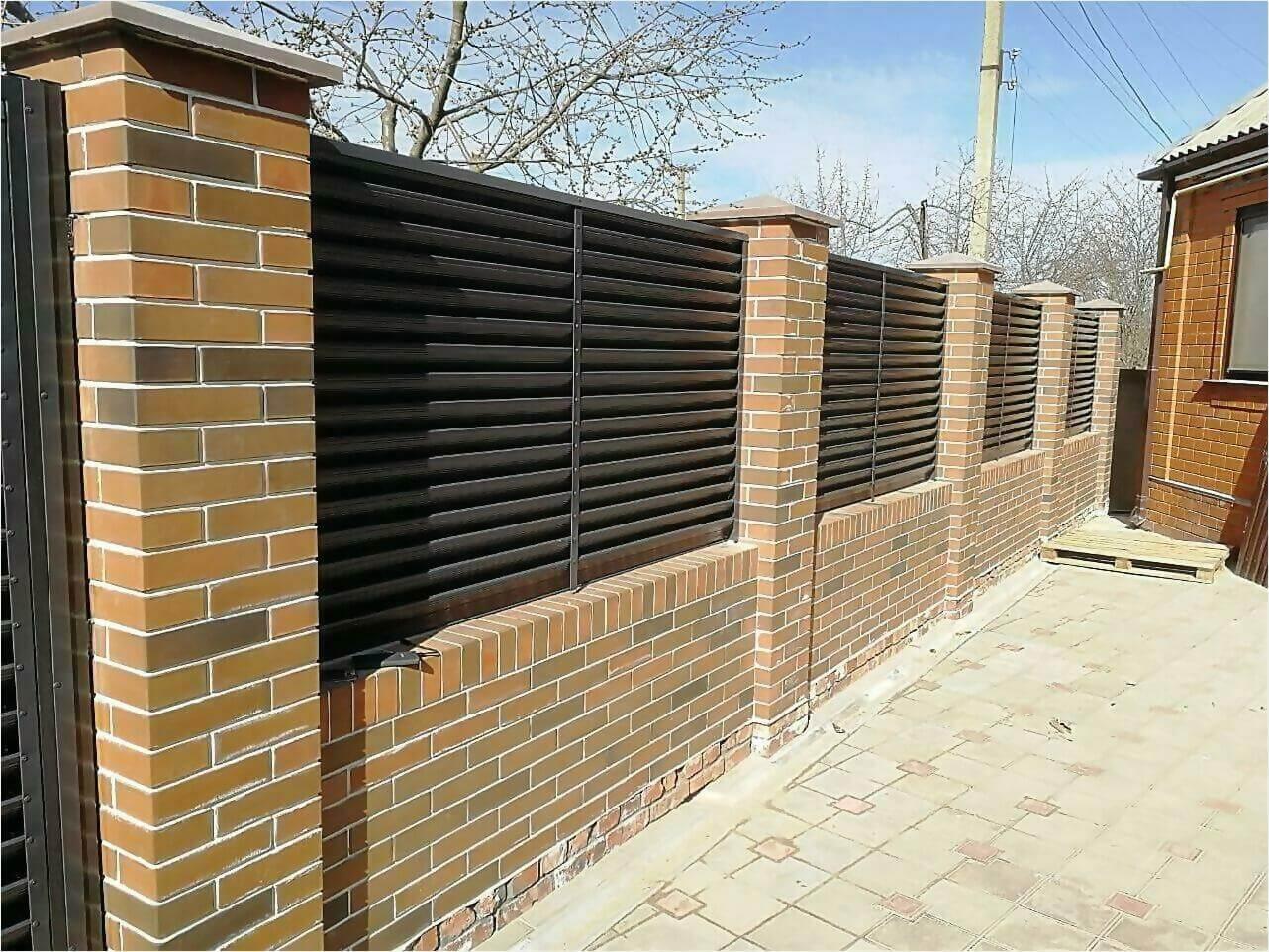 Забор-жалюзи 65м RAL7024 фото15